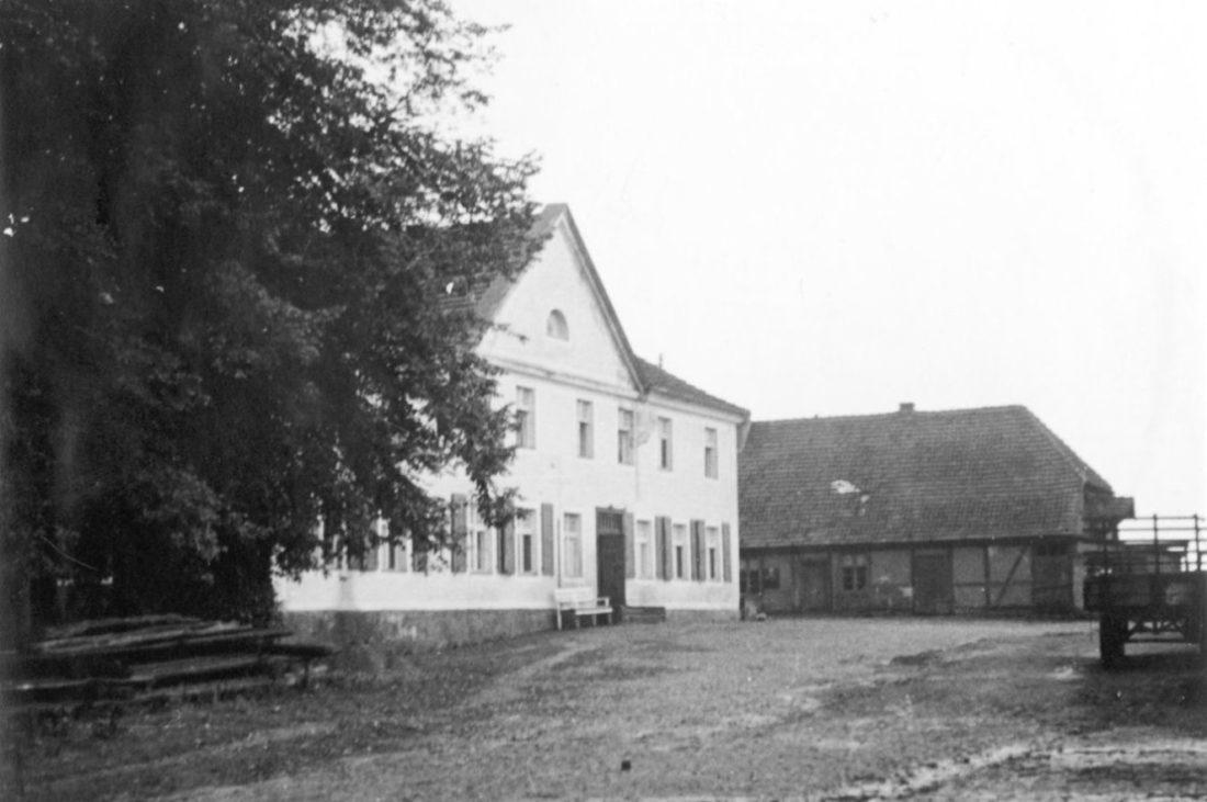 historisch, Gutshaus, alt, Gutshof